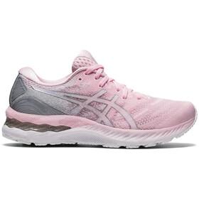 asics Gel-Nimbus 23 Shoes Women, rosa/gris
